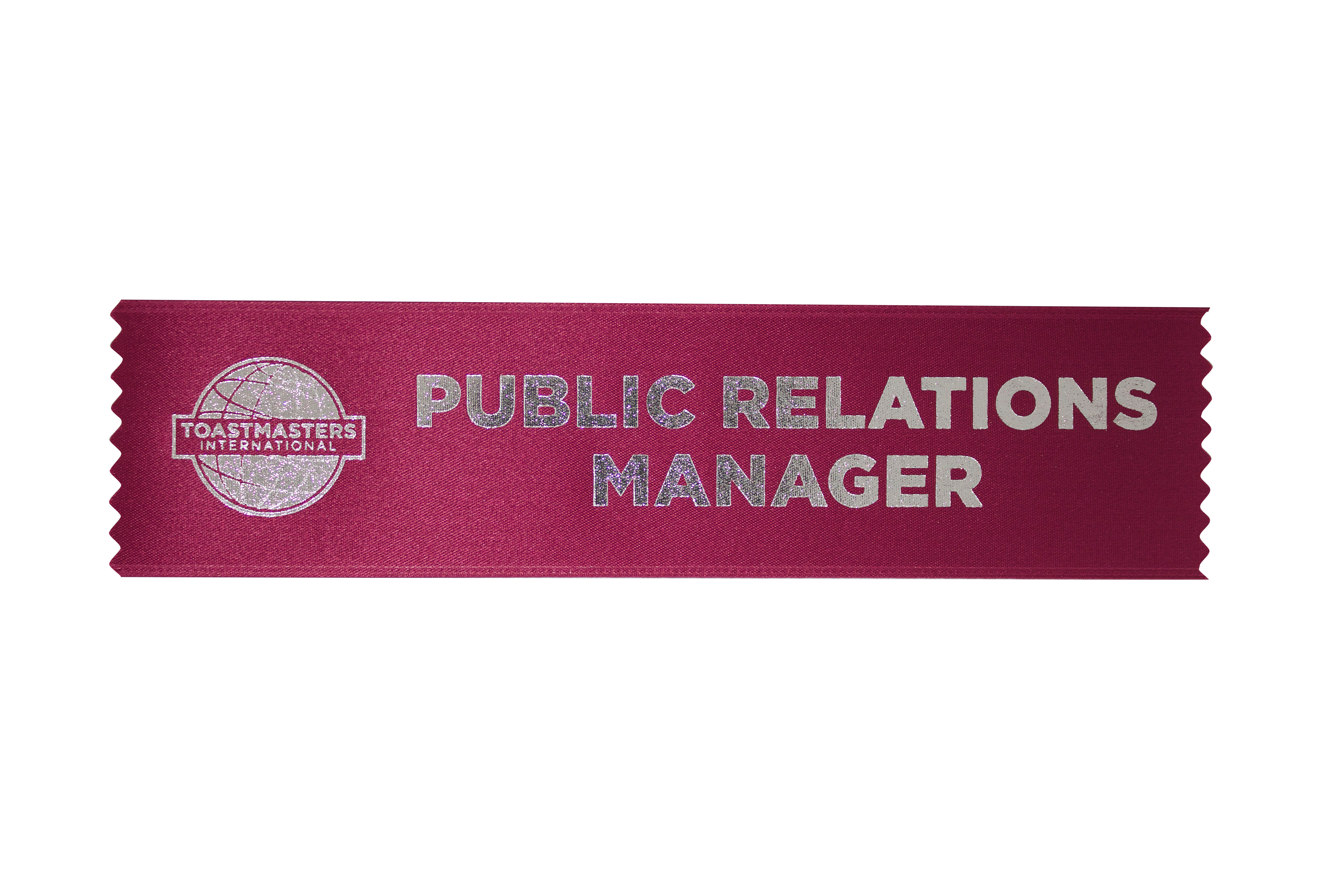 Public Relations Manager Ribbon
