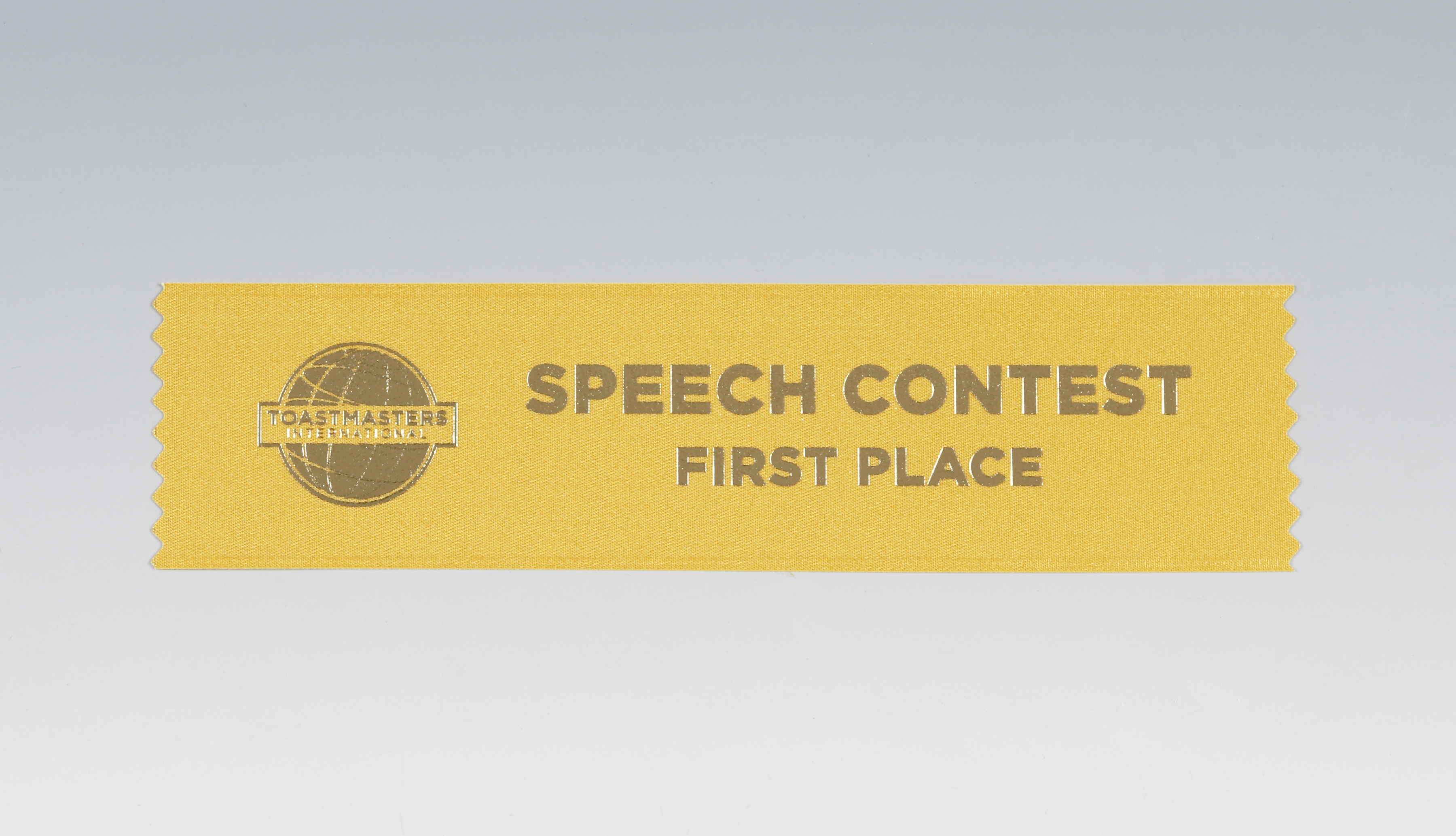 Speech Contest Ribbon (1st Place)