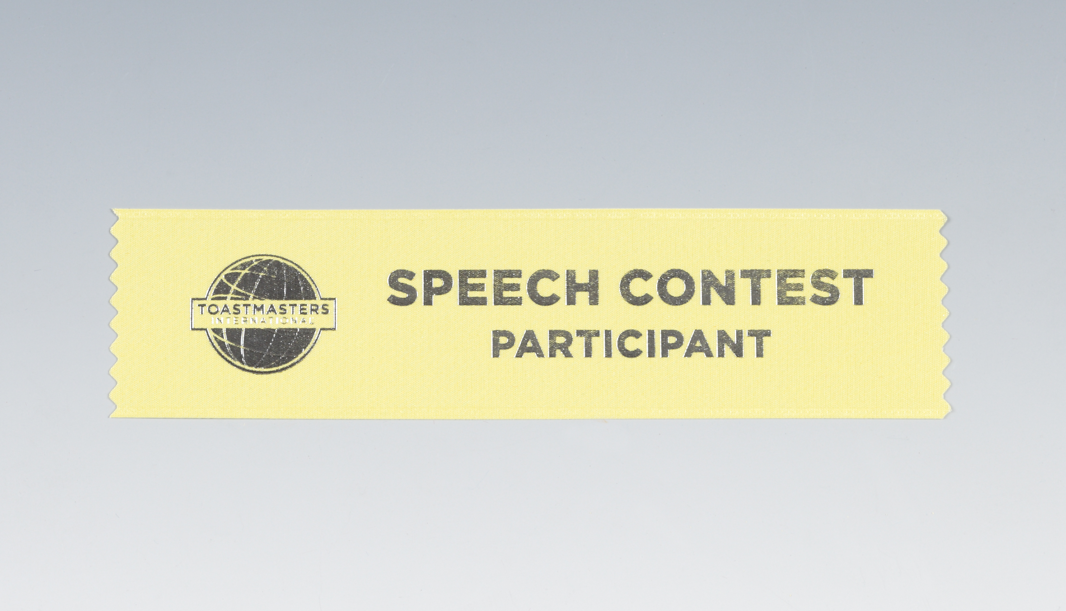 Speech Contest Ribbon (Participant)