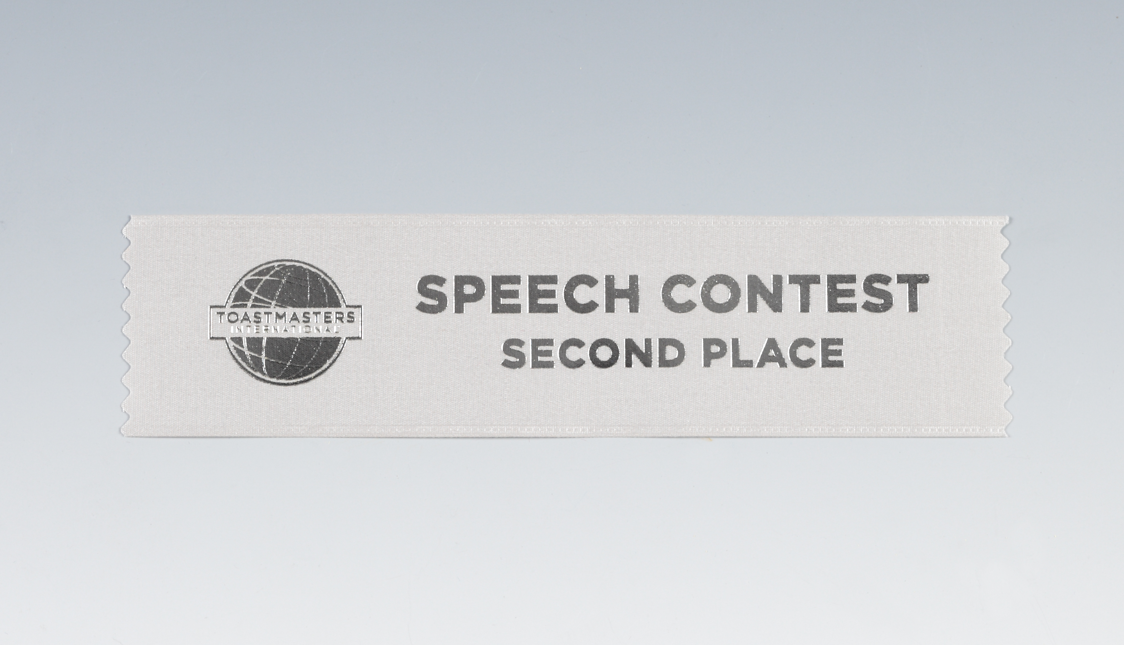 Speech Contest Ribbon (2nd Place)