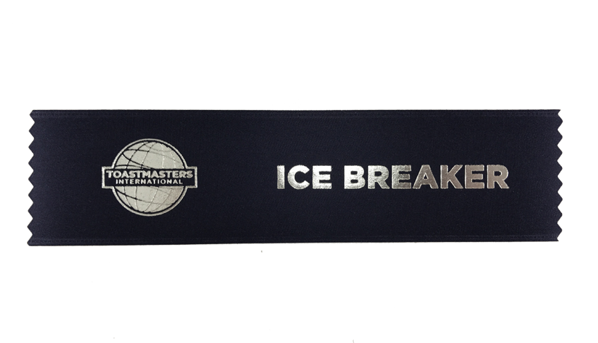 The Ice Breaker Ribbon
