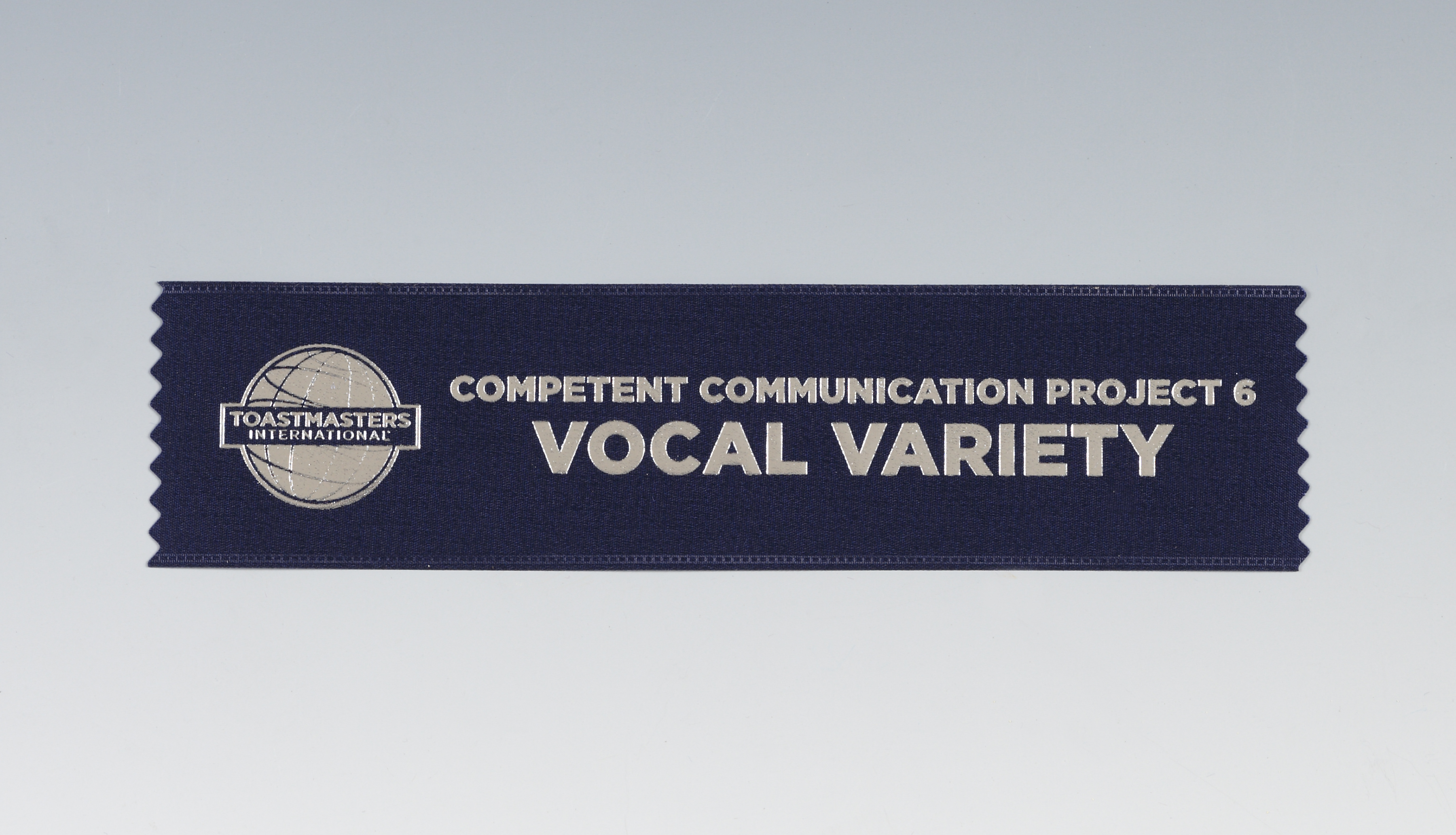 Vocal Variety Ribbon