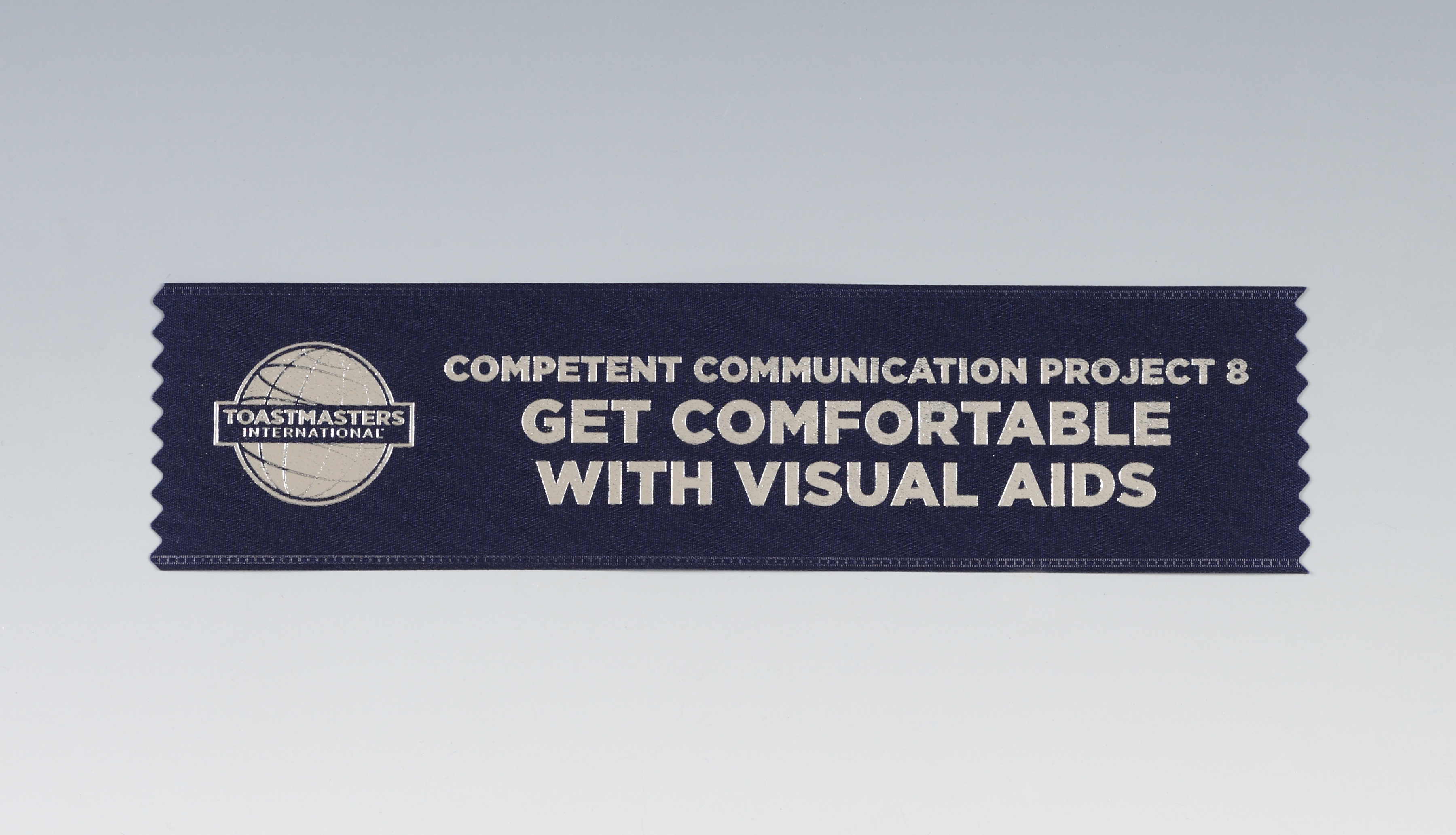 Get Comfortable with Visual Aids Ribbon