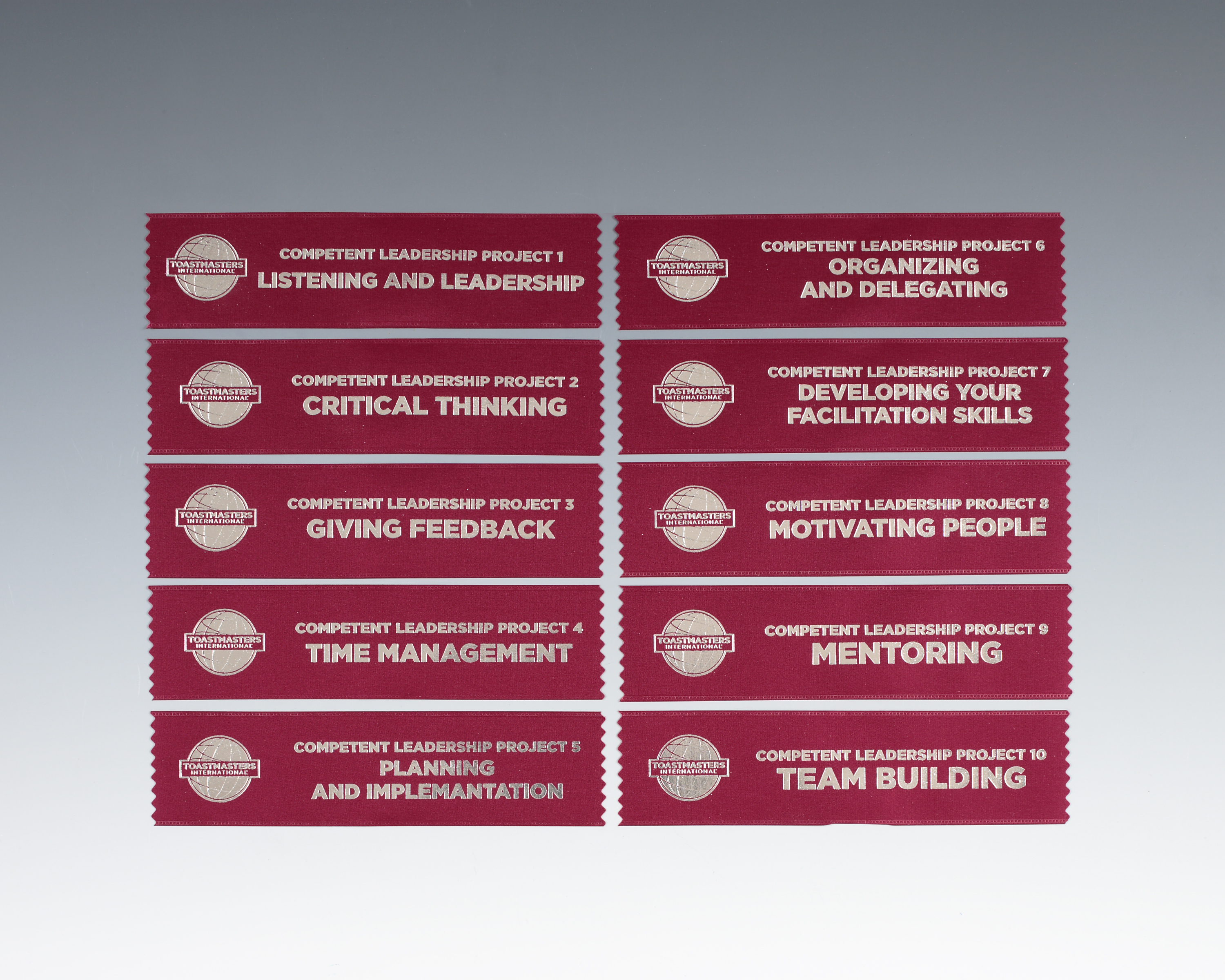 Competent Leader Manual Project Ribbon Set