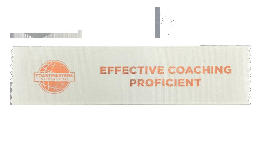Effective Coaching Proficient Ribbon
