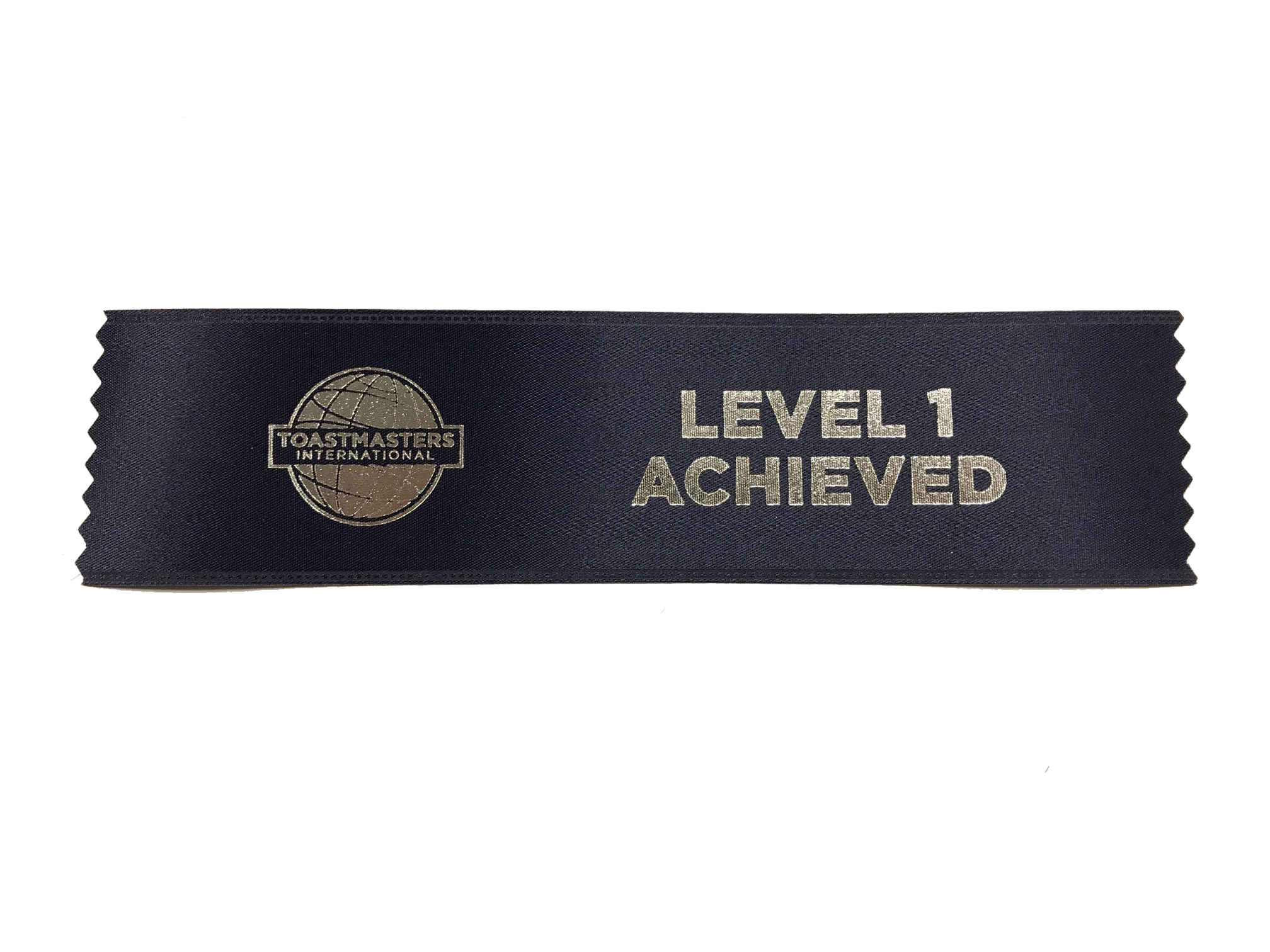 Level 1 Achieved Ribbon