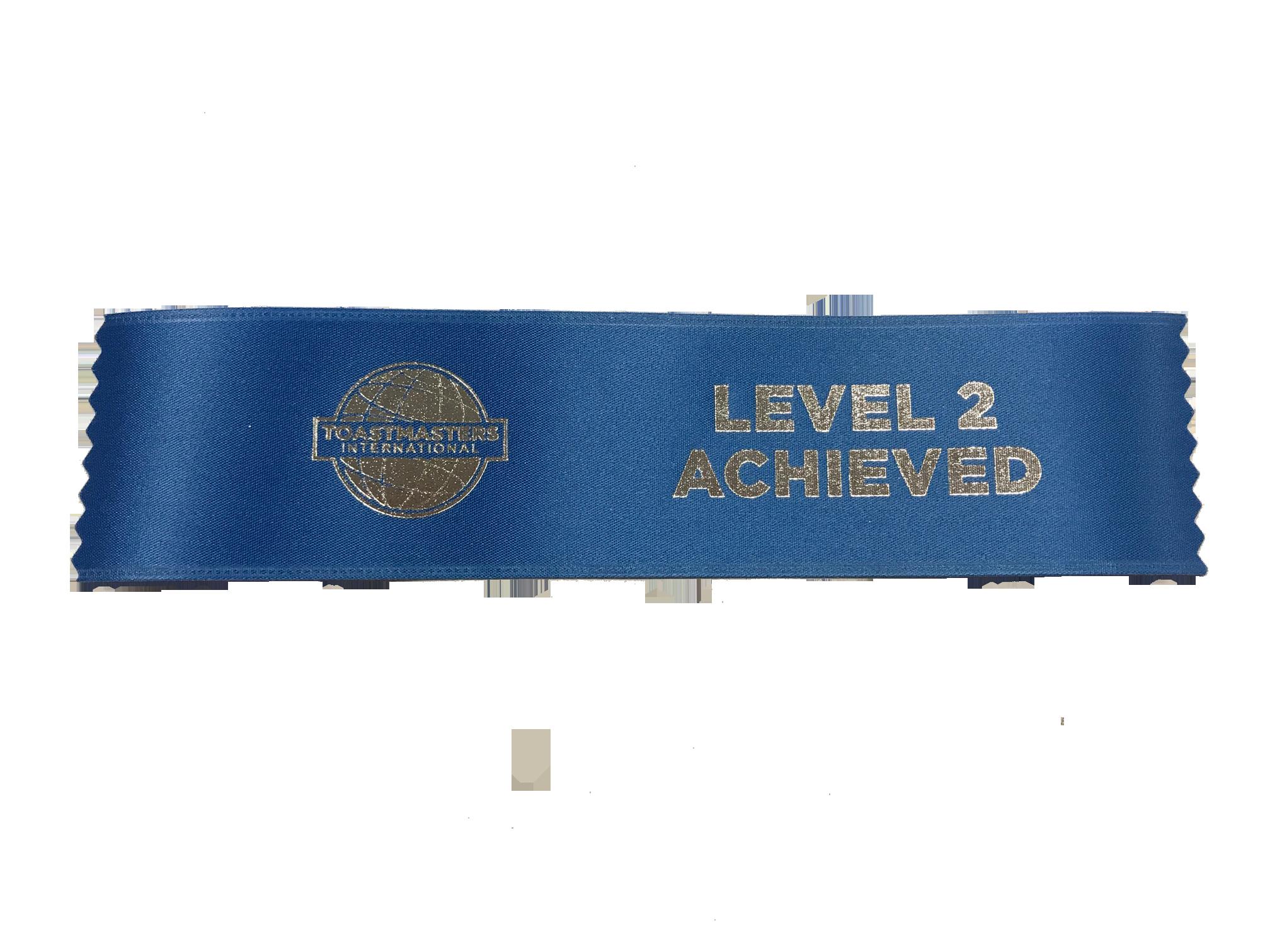 Level 2 Achieved Ribbon
