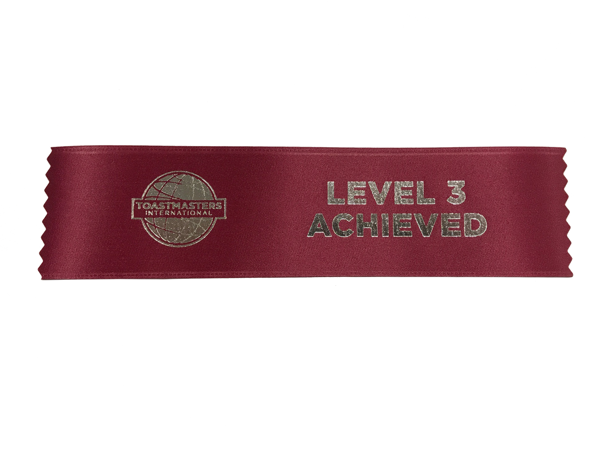 Level 3 Achieved Ribbon