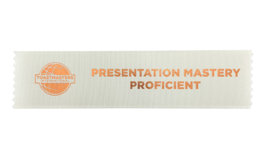 Presentation Mastery Proficient Ribbon