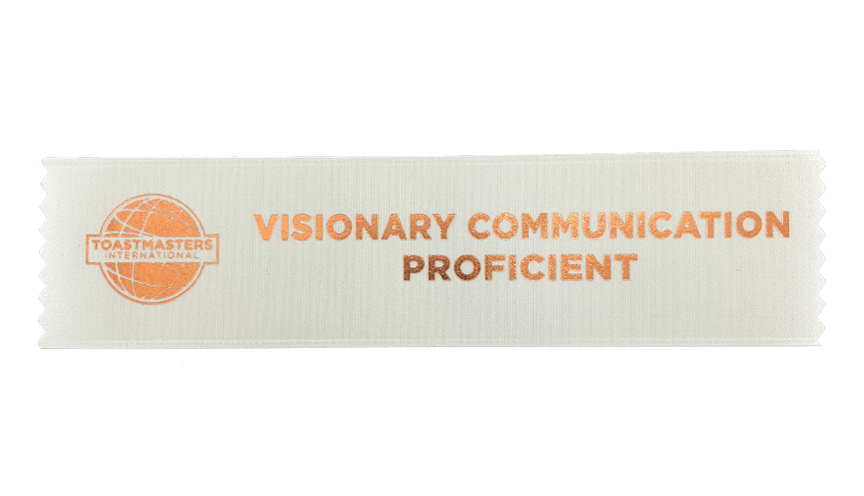 Visionary Communication Proficient Ribbon