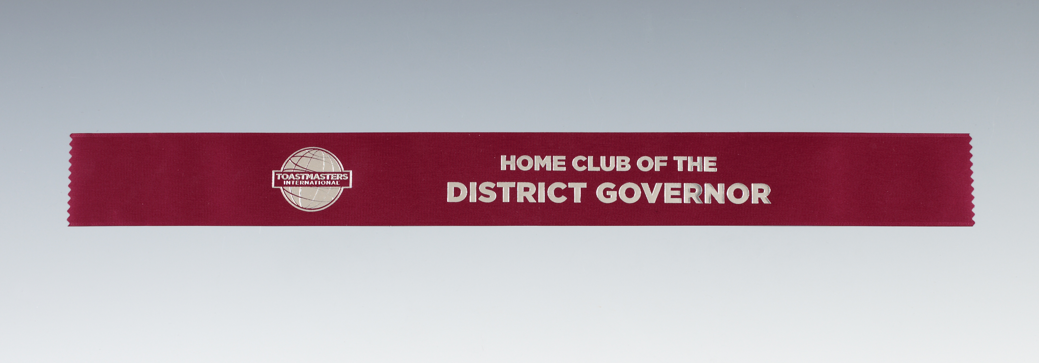 Home Club of the District Governor Ribbon
