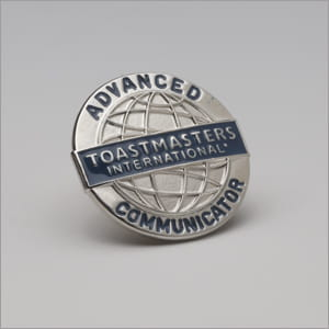 Advanced Communicator Silver Pin