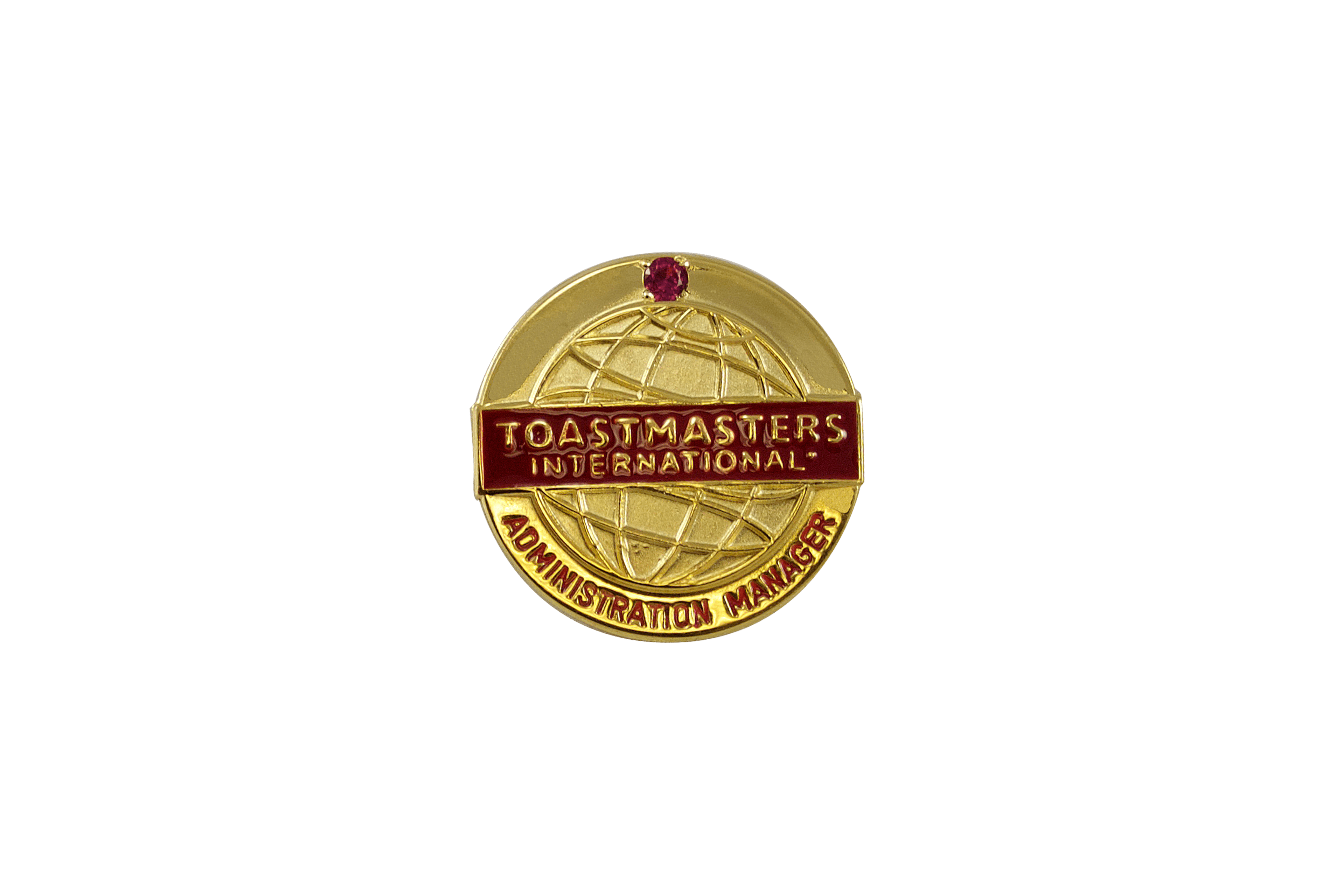 Administration Manager Pin (with stone)