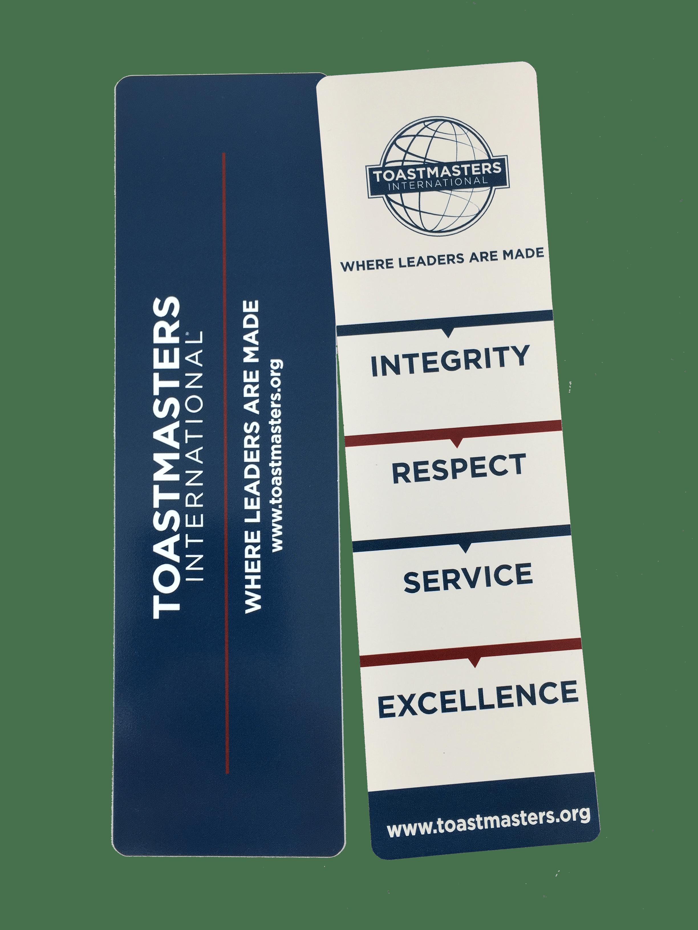 Core Value Bookmark