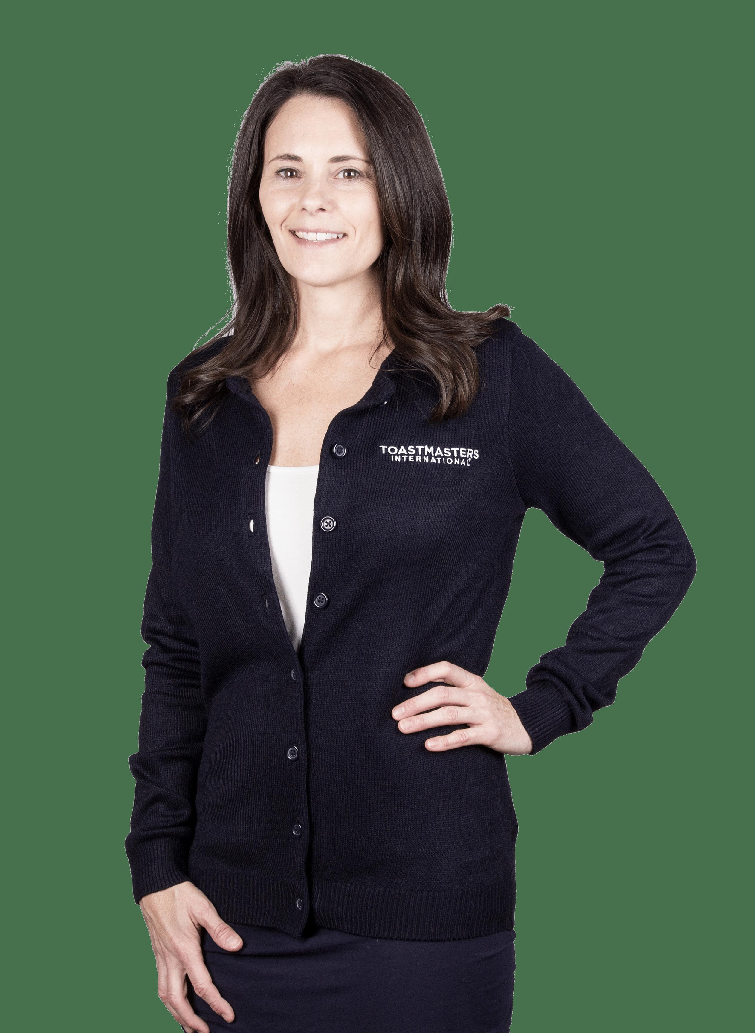 Ladies Button-Front Cardigan