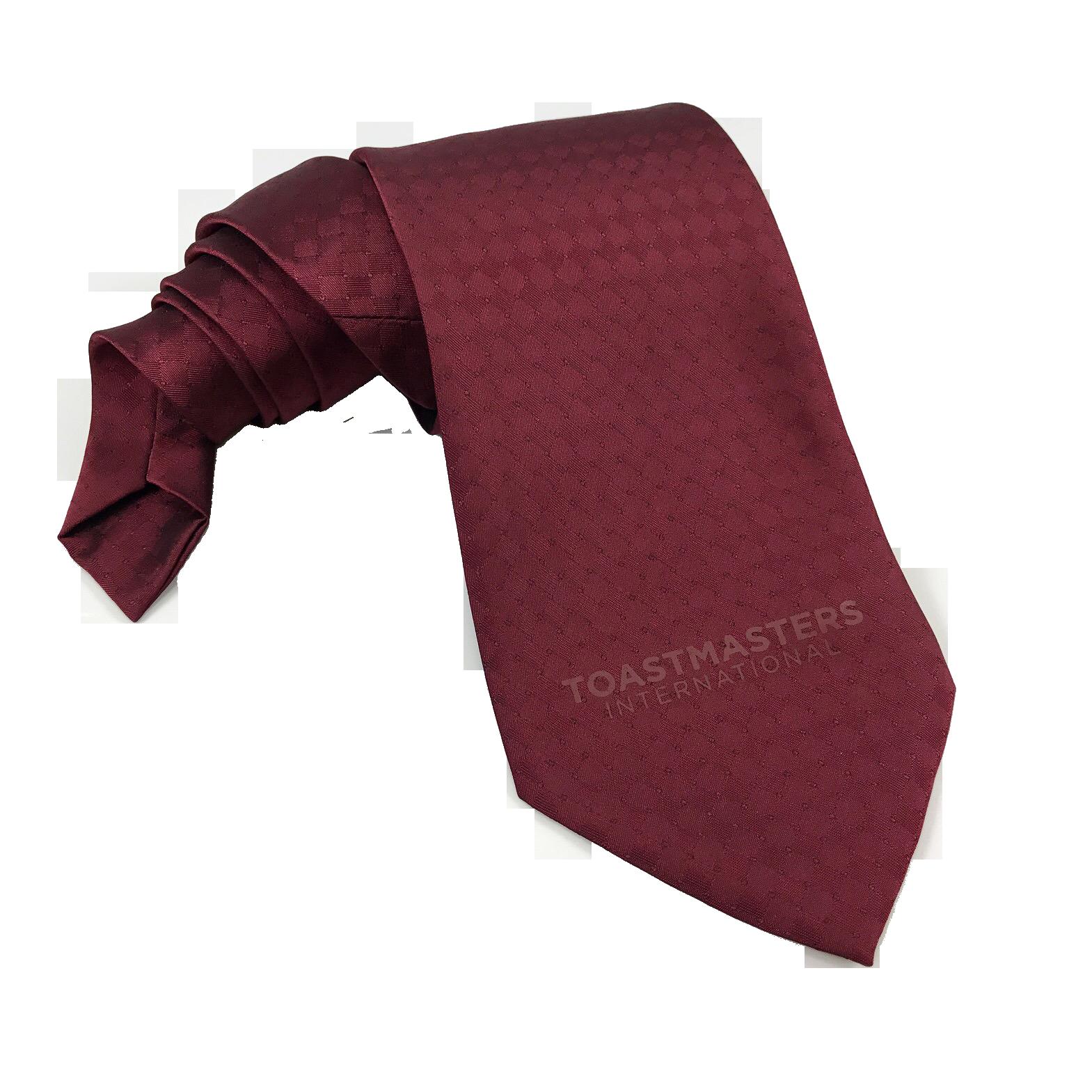 Textured Classic Tie (Burgundy)