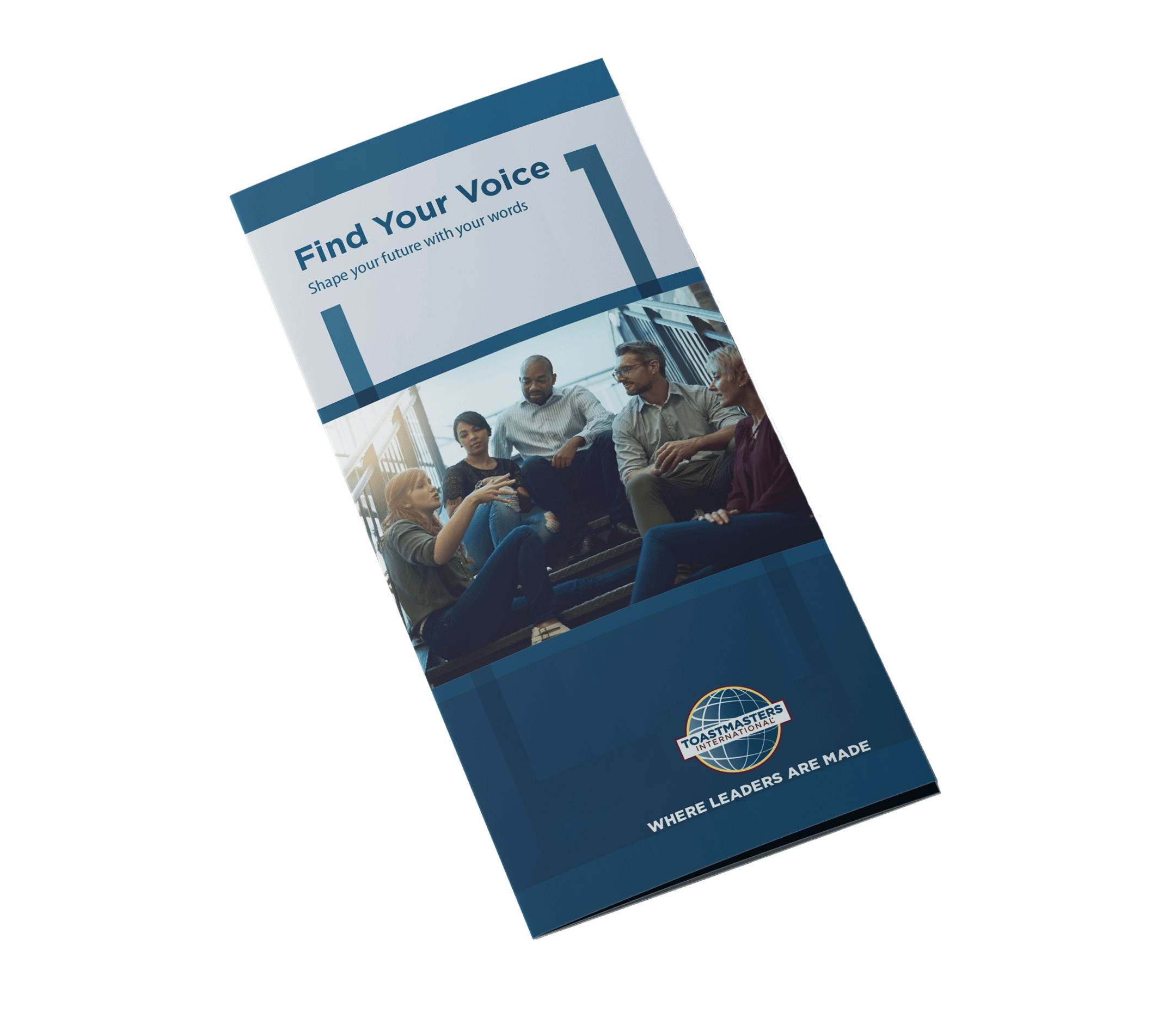 Find Your Voice. Brochure