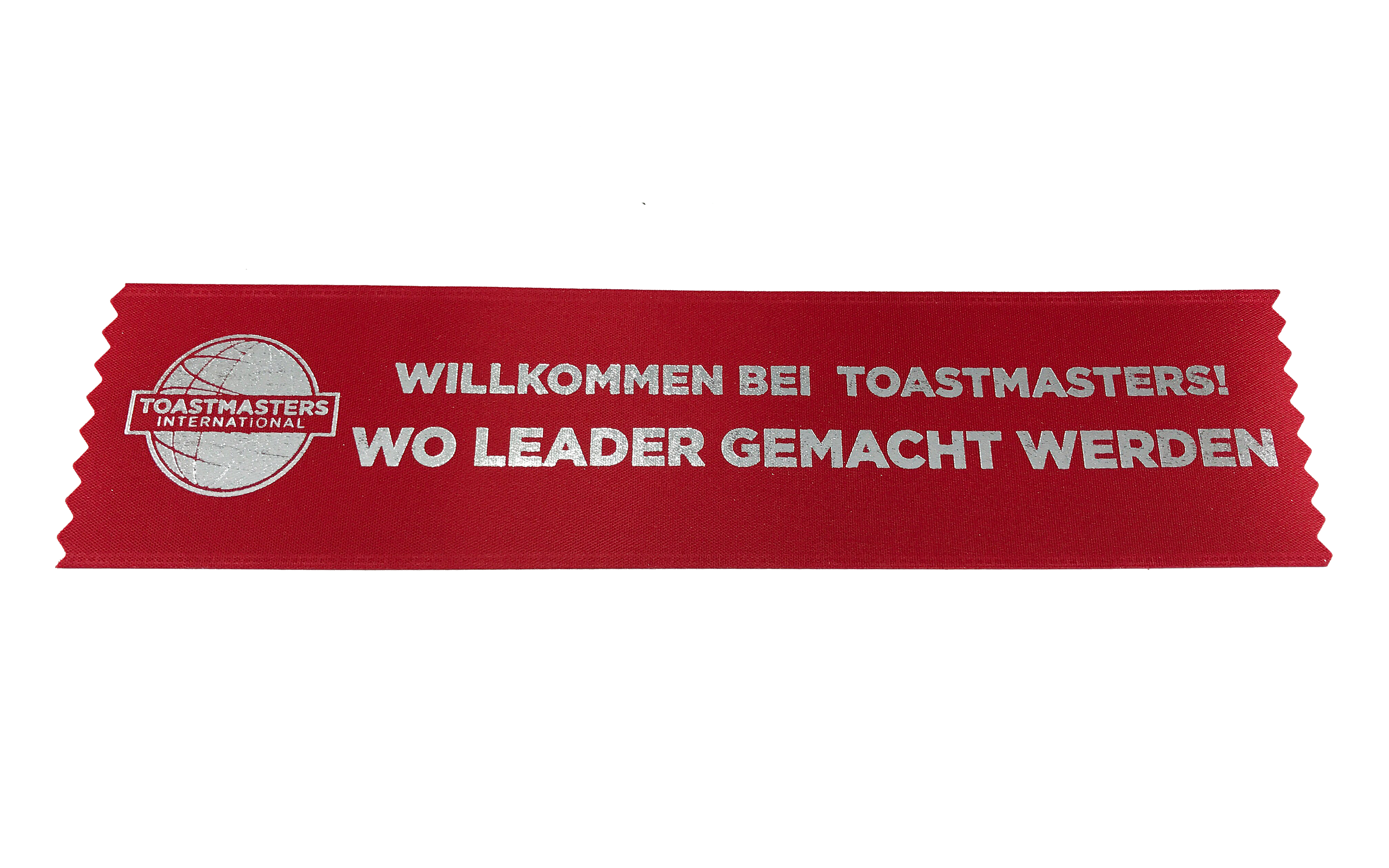 Promotional Welcome Ribbons (Set of 10) (German)