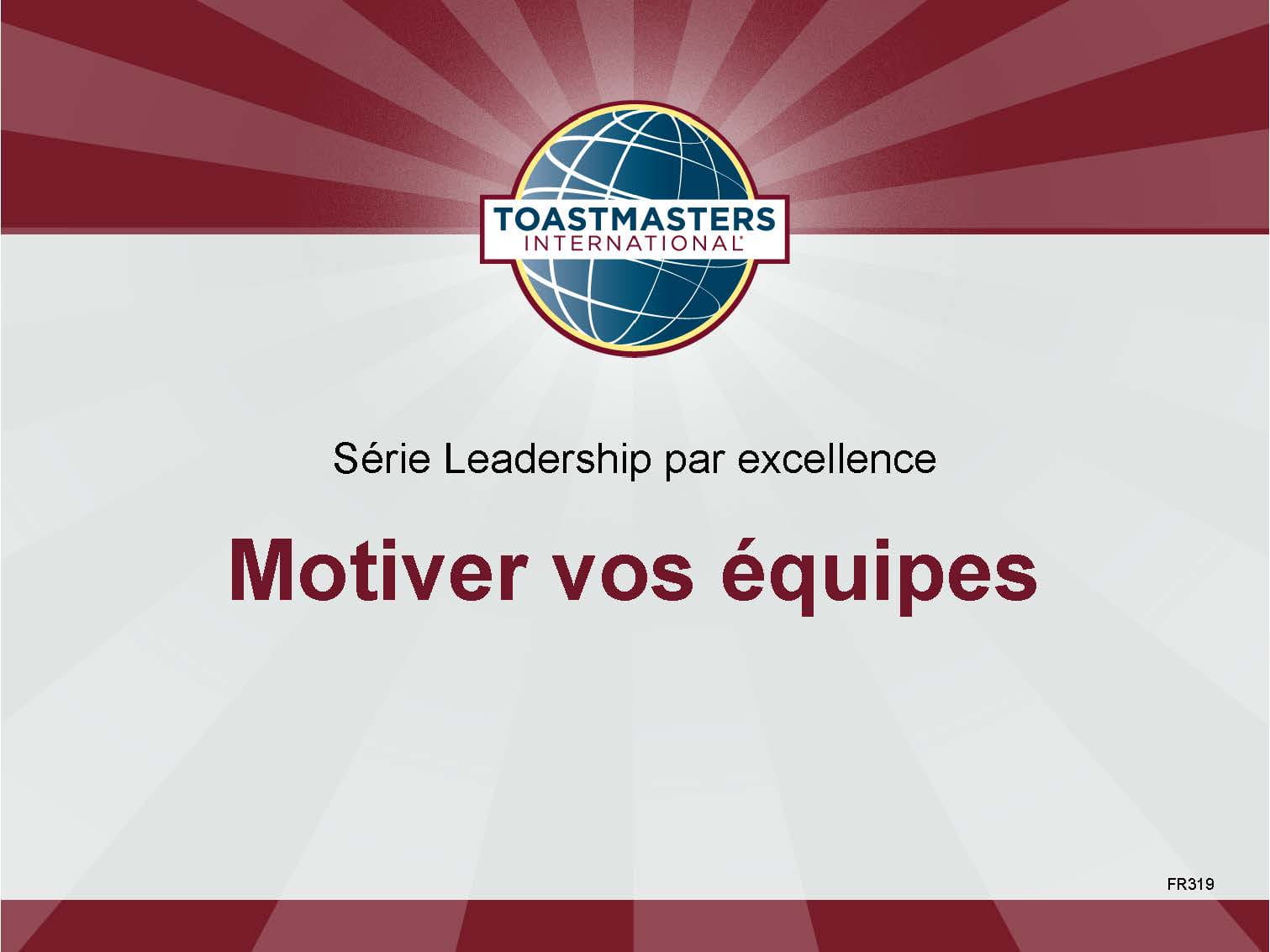 Motivating People (French)