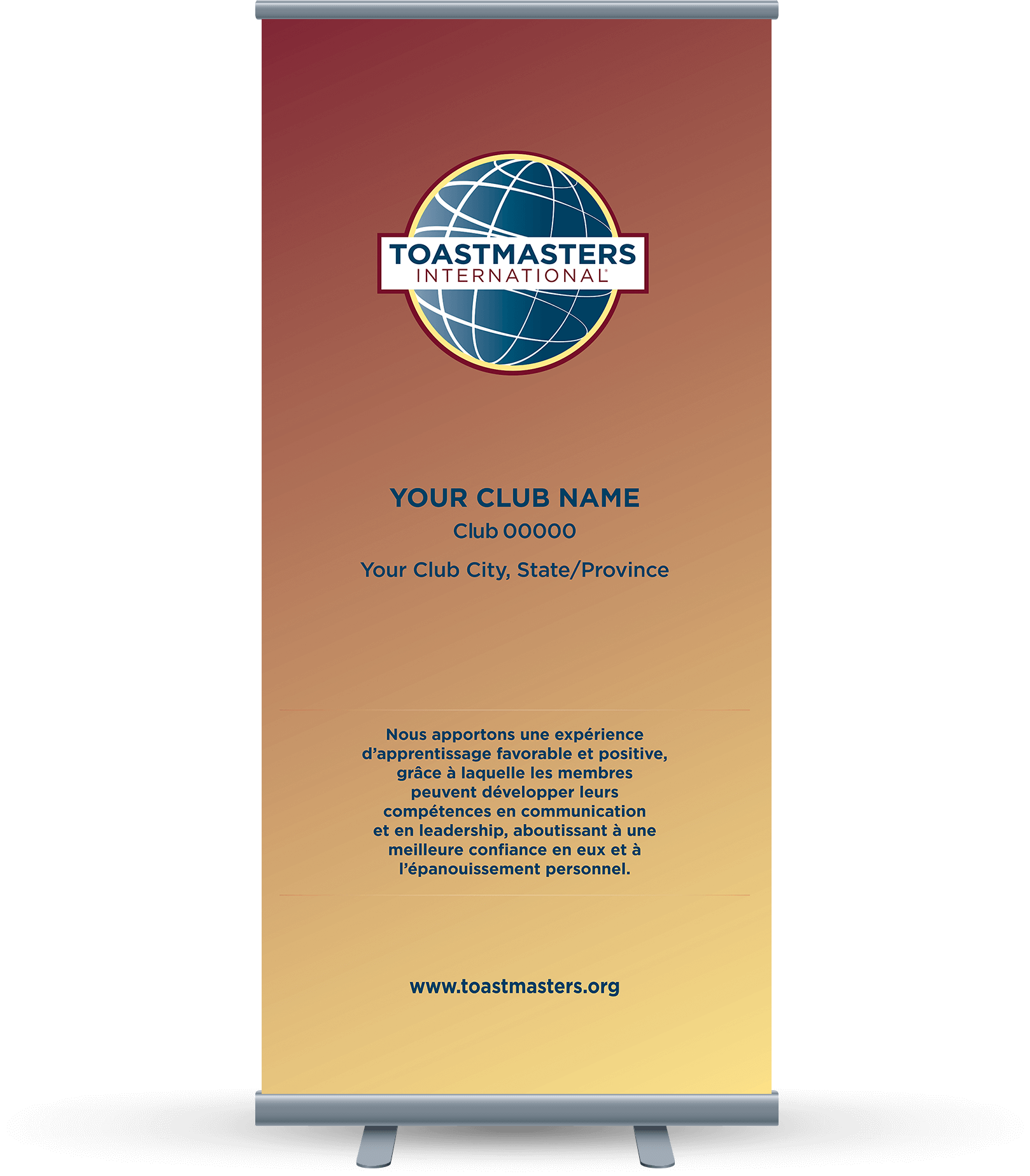 Custom-Club-Banner-French-Toastmasters-Yellow