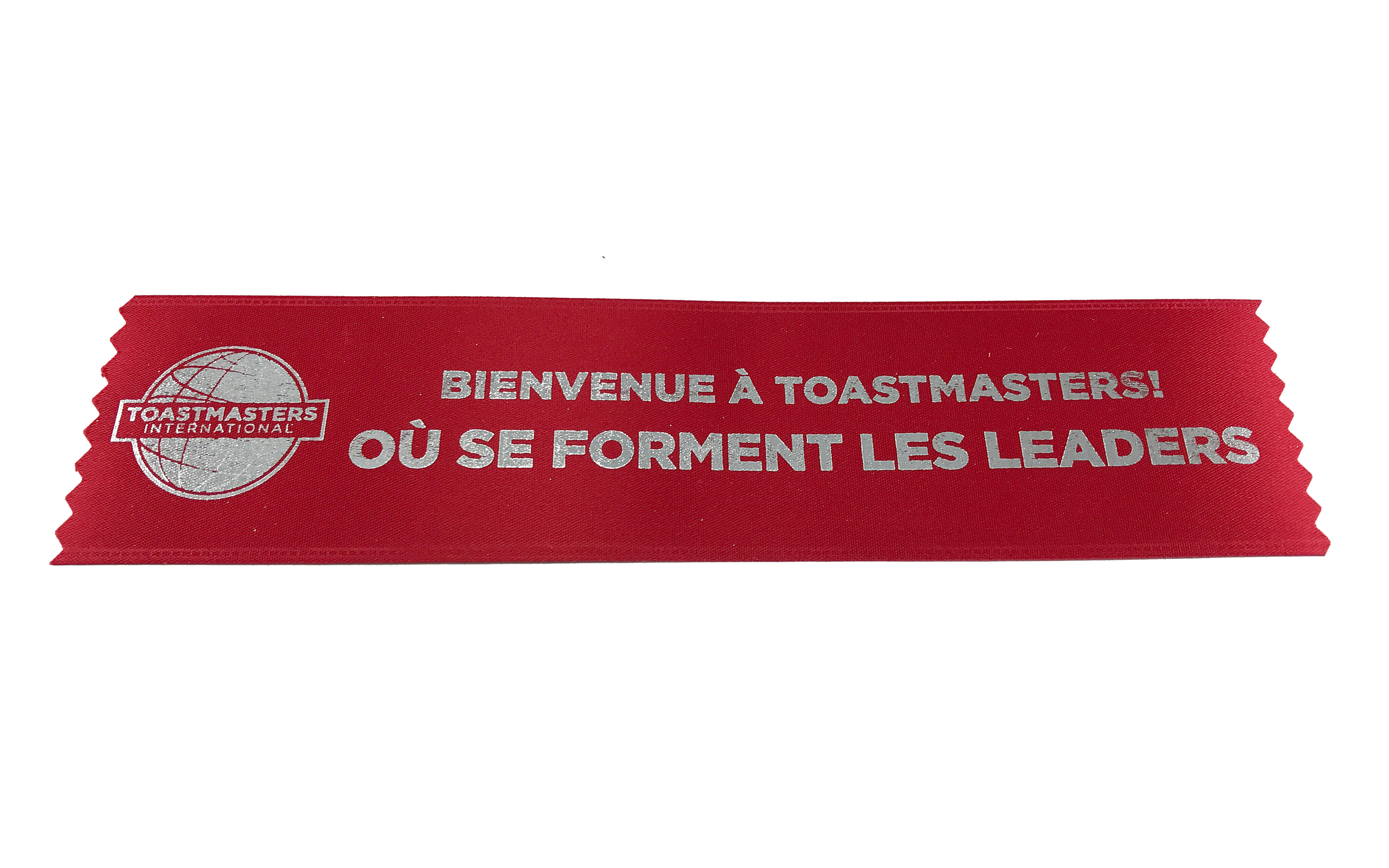 Promotional Welcome Ribbons (Set of 10) (French)