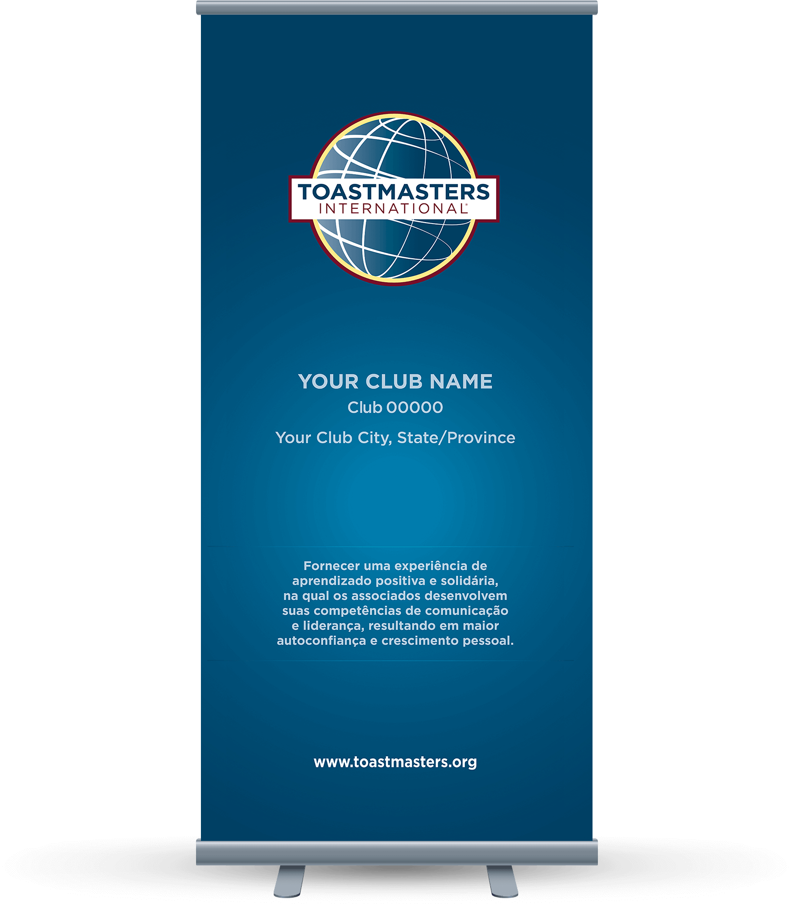 Custom-Club-Banner-Portuguese-Toastmasters-Navy