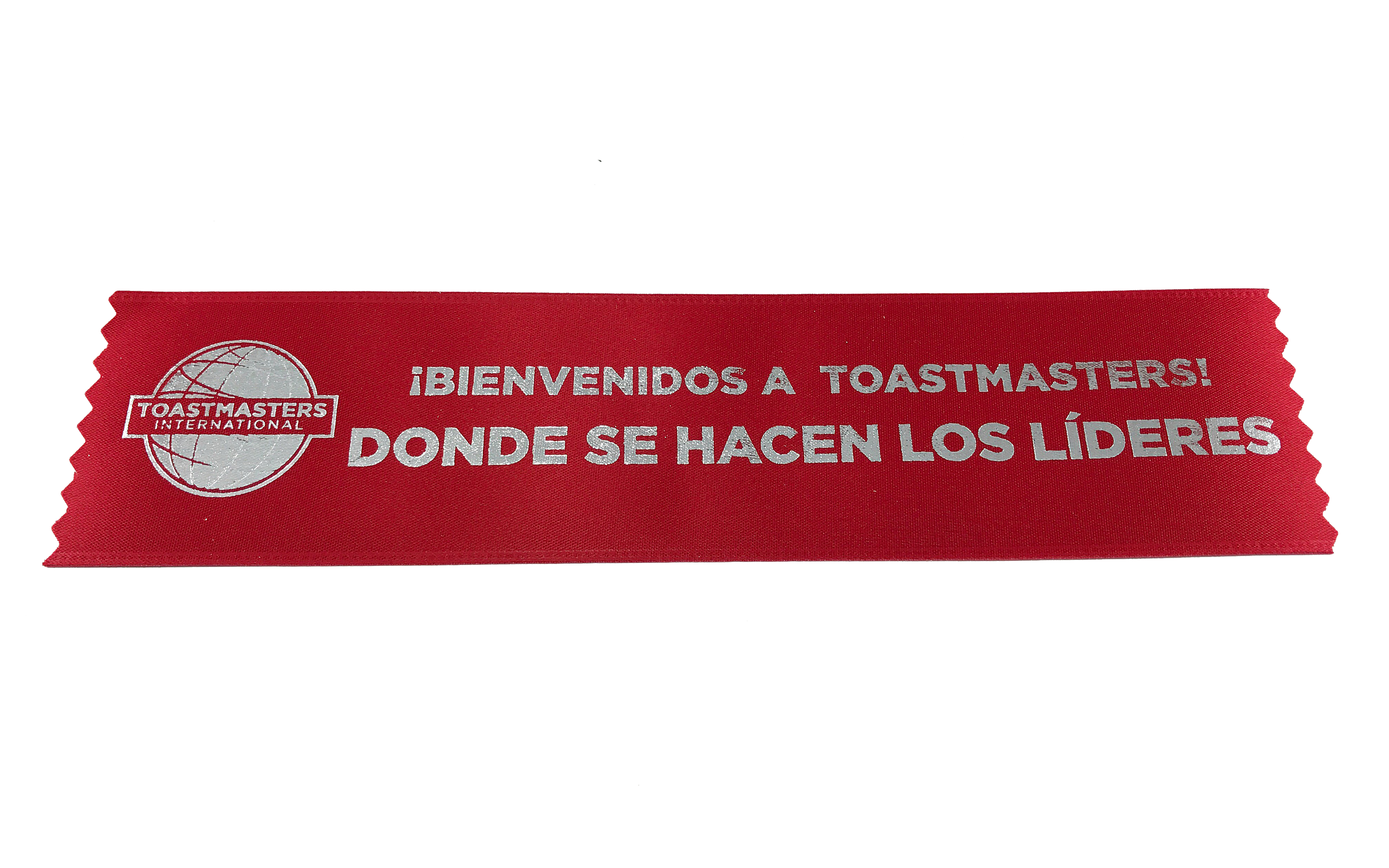 Promotional Welcome Ribbons (Set of 10) (Spanish)