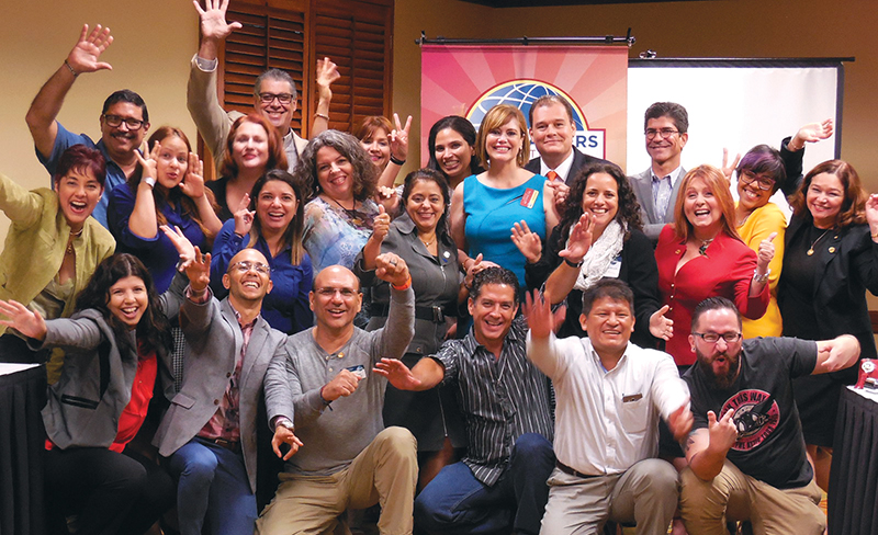 Puerto Rico Toastmasters Club San Juan Celebrates At Every Opportunity