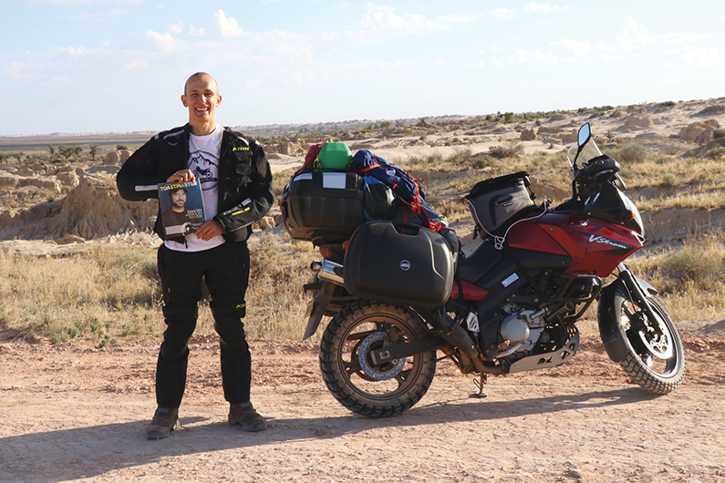 Dariusz Bukowski, CC, from Sydney, Australia, takes a ride through Mungo National Park in New South Wales, Australia.