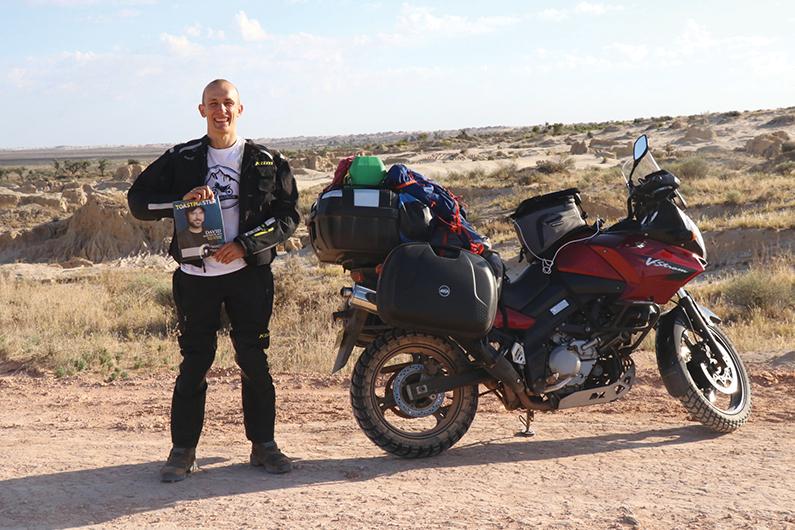 Dariusz Bukowski, CC, from Sydney, Australia, takes a ride through Mungo National Park in New South Wales, Australia.