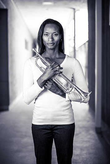 Letford, an award-winning music teacher, had a speech impediment growing up and began playing the trumpet in third grade. She says she found her voice through music.