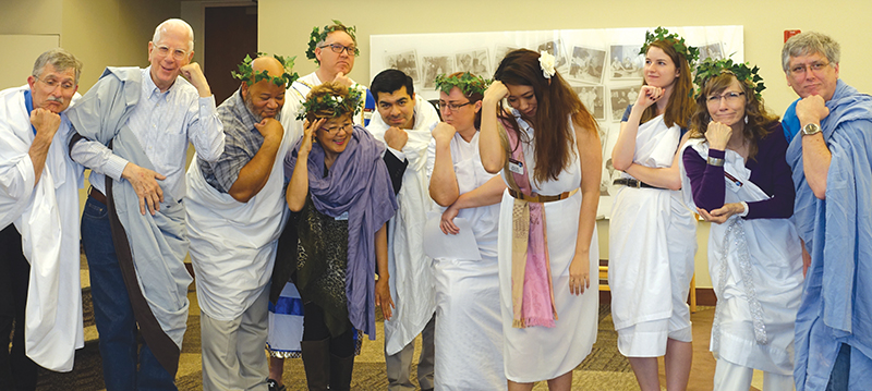 Toastmasters toga party