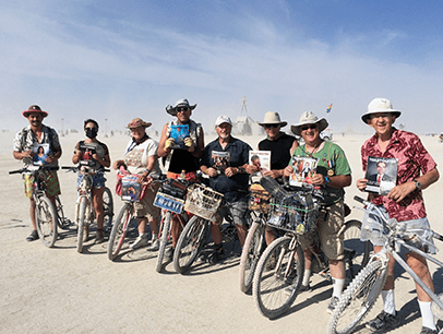 Toastmasters Burning Man