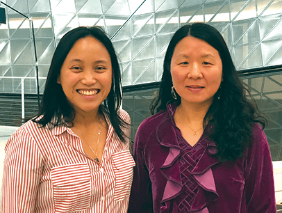 Toastmasters Christine Mamuad Yifang Xu