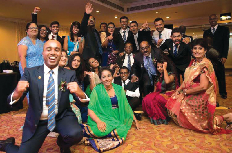 The Colombo Toastmasters club in Sri Lanka holds theme meetings to give members and visitors an enjoyable experience.