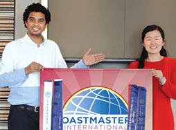 Toastmasters Jannet Yang Wikum Hettiarachchi
