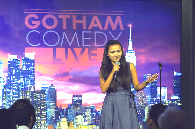 Last year, Shailee performed her stand-up comedy routine at Gotham Comedy Club in Manhattan, New York.