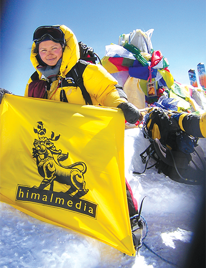 As part of an all-Nepali female expedition, Shailee reached the summit of Mount Everest in May 2008.