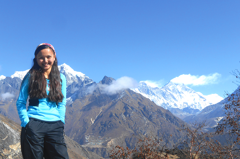 Shailee Basnet and her teammates became the first women's team in the world to climb the highest peak on each of the seven continents.