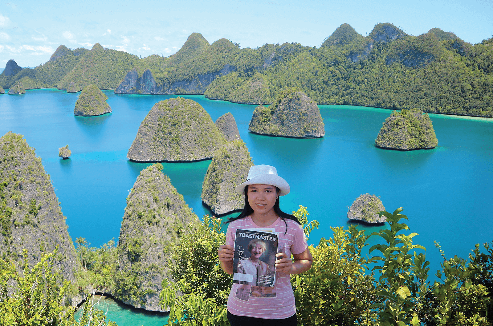 Dian Halleyuisari of Bali, Indonesia, travels to the Raja Ampat Islands, an archipelago located off the northwest tip of Bird's Head Peninsula in West Papua, Indonesia.