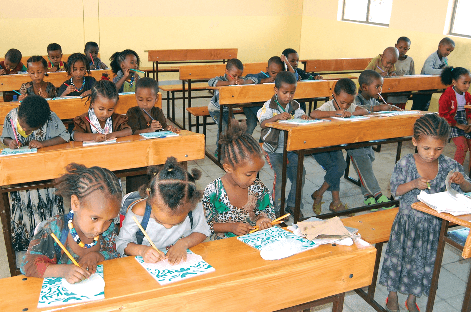 Toastmasters Ethiopian Classroom