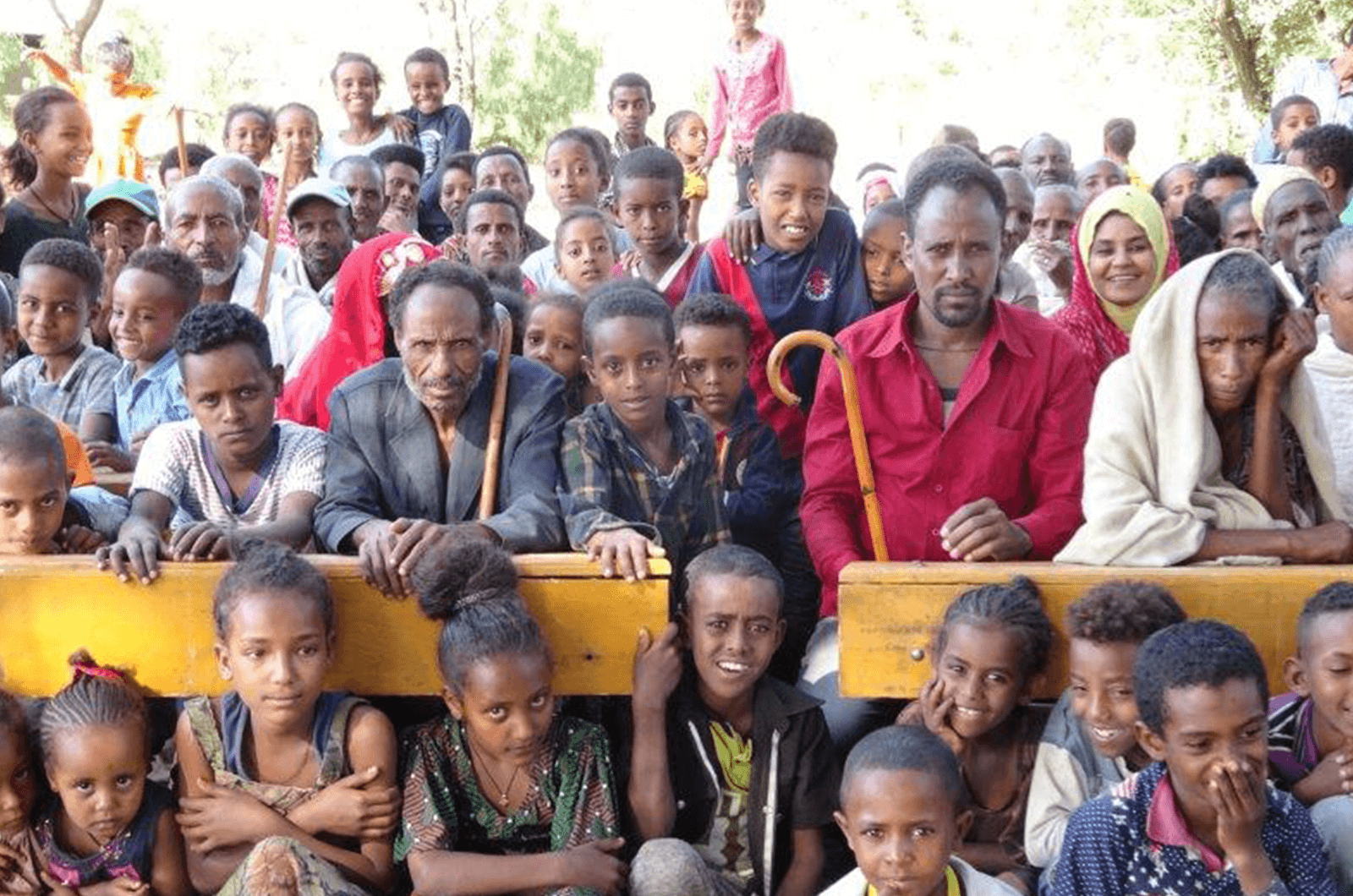 New school buildings in Ethiopia were built around a rainwater-collection system so students have drinking water, and it also used for maintenance and growing vegetables.