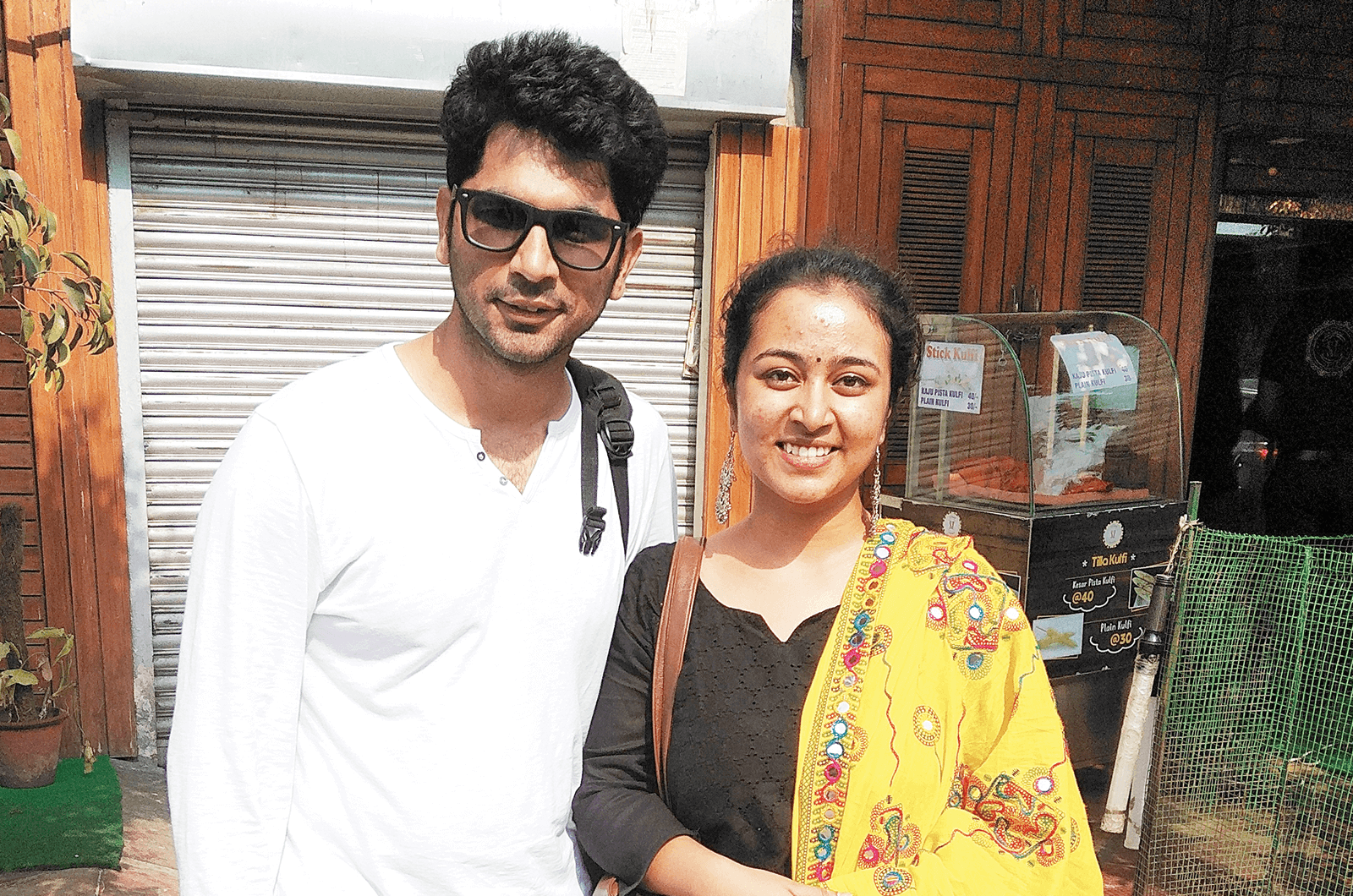 Himanshu Sharma and Shibani Krishnatraya
