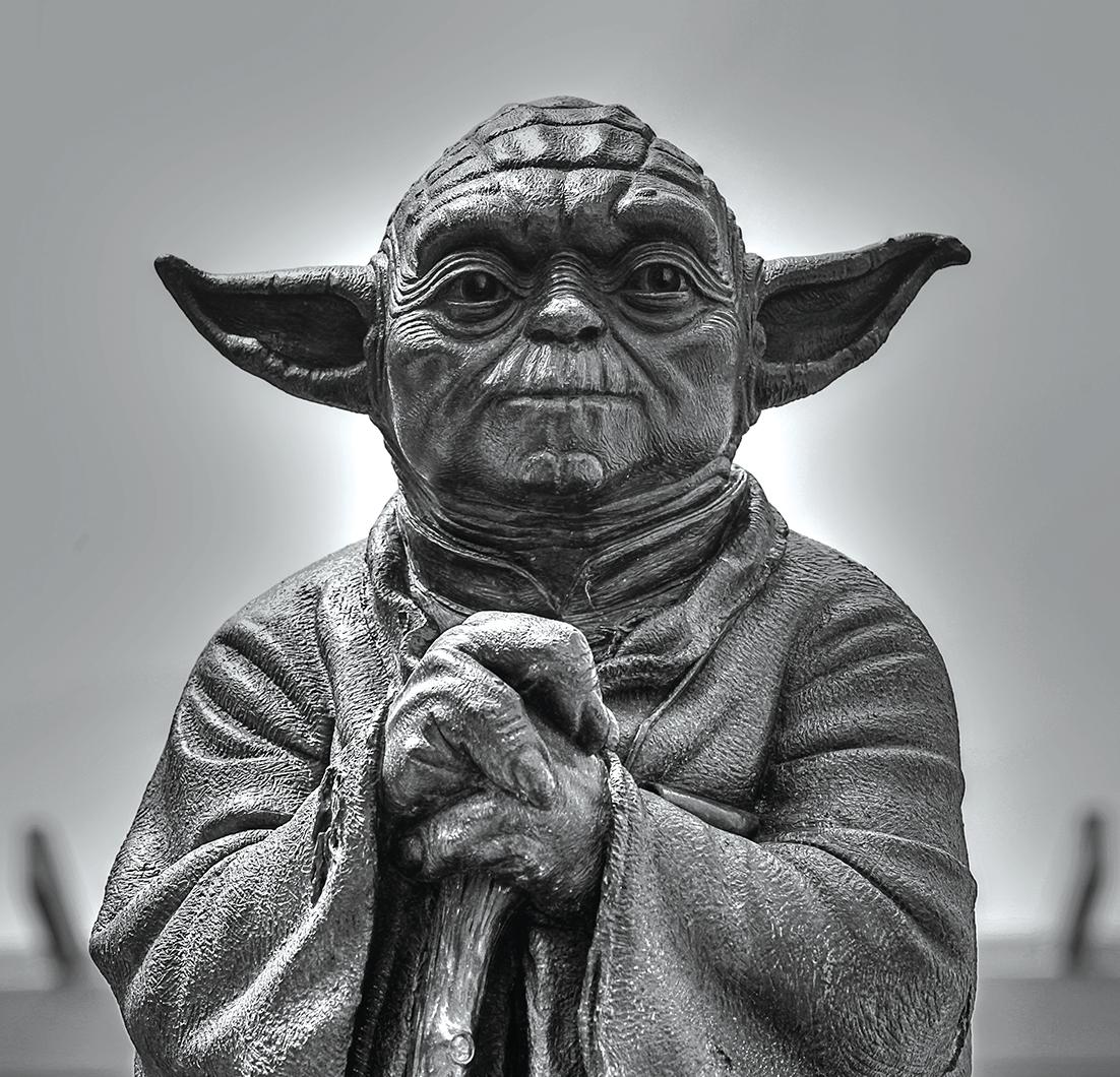 Yoda froam Star Wars