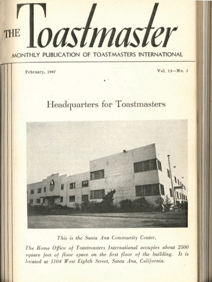 New World Headquarters in Santa Ana, California, was announced in a February 1947 cover story.