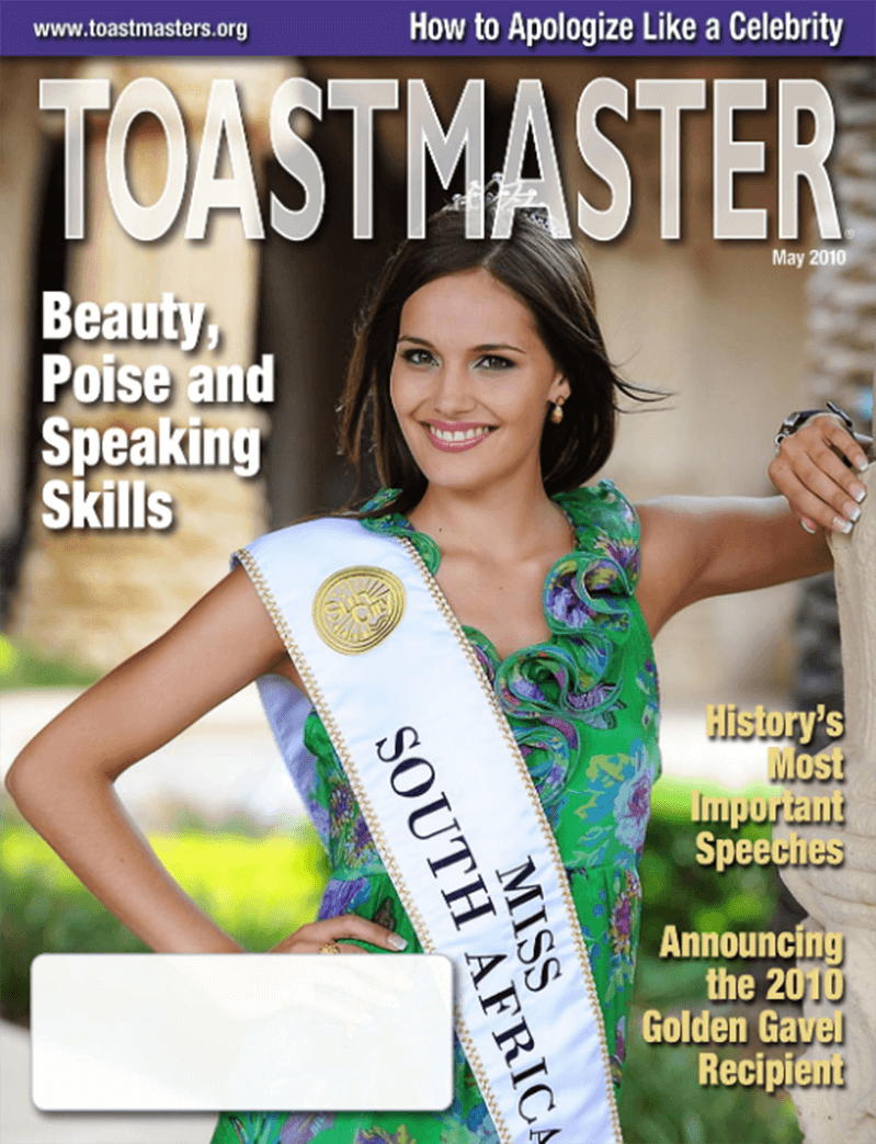 In the last decade, the Toastmaster began using more images of real members on the cover.