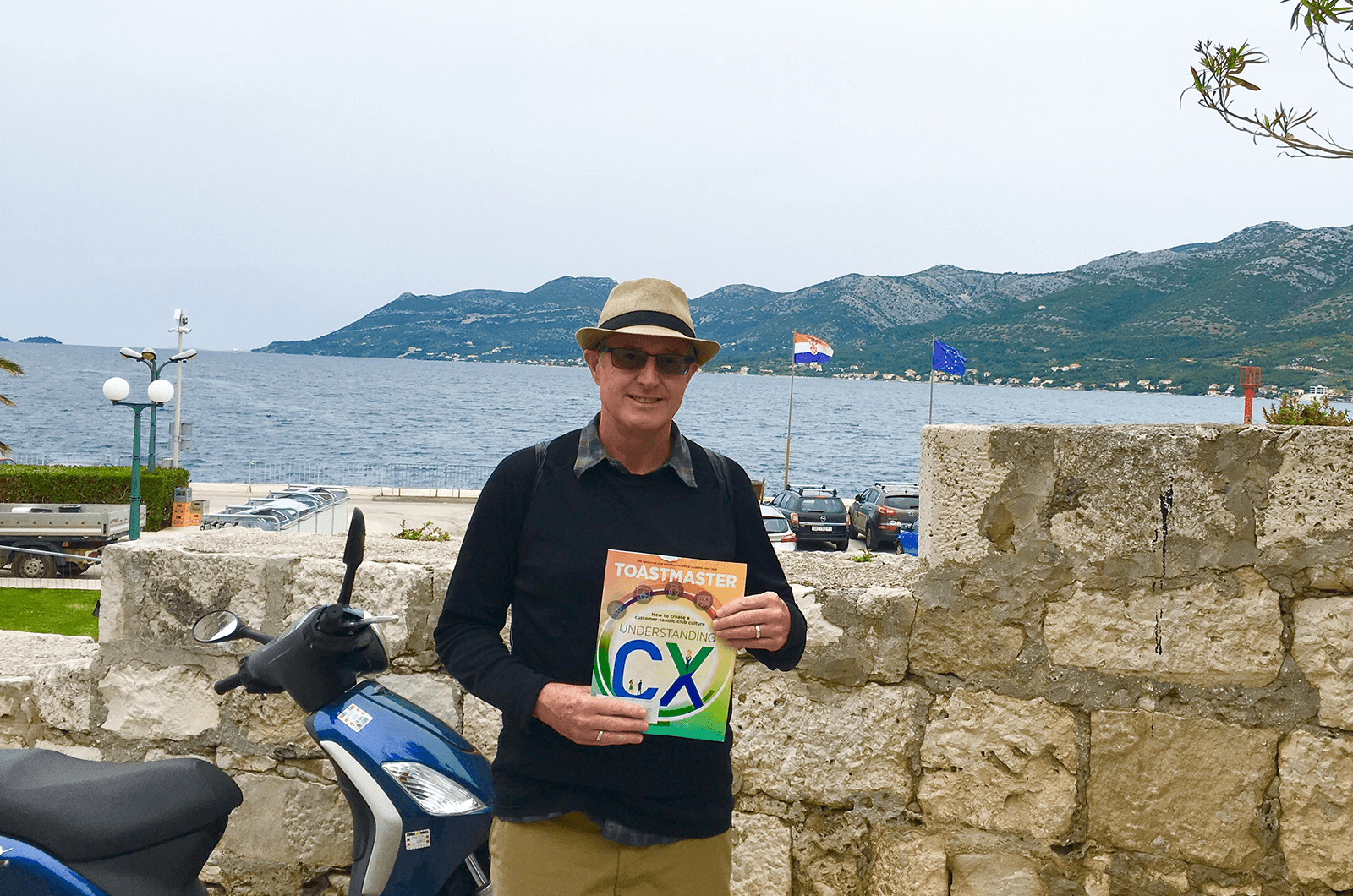 Dan O'Kane of Portland, Oregon, visits Korcula, a Croatian island in the Adriatic Sea, which claims to be the birthplace of famous explorer Marco Polo.