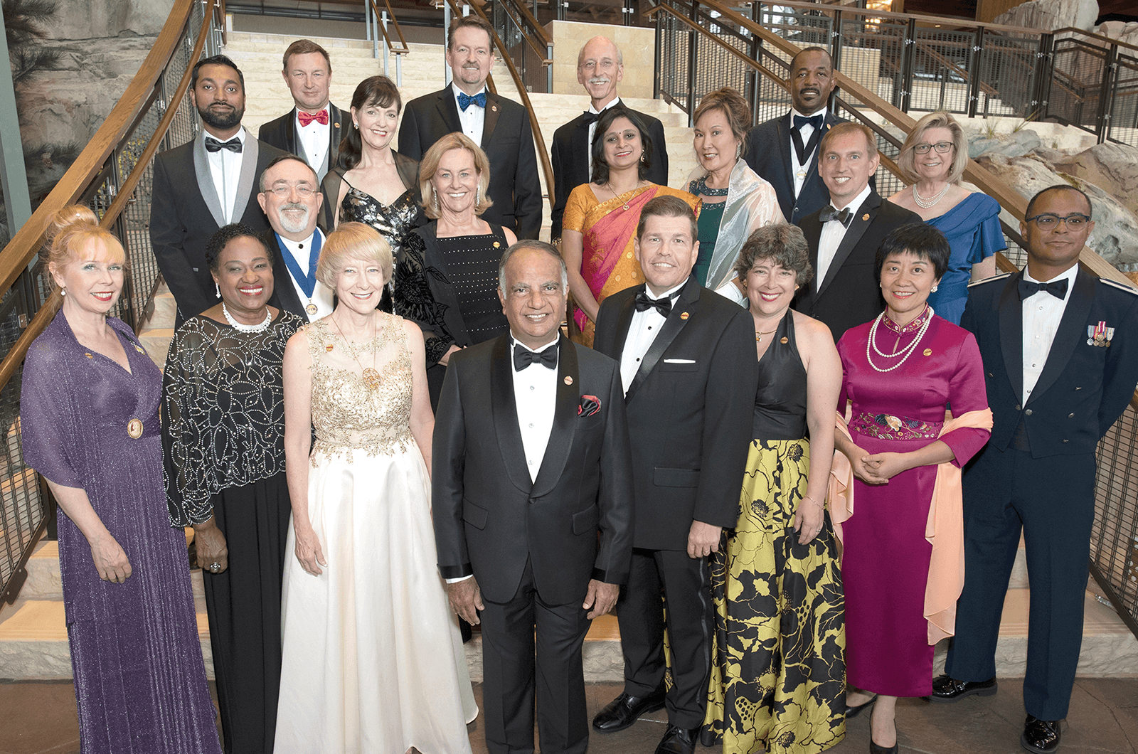 The 2019-2020 Toastmasters Board of Directors.