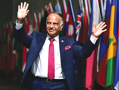 Deepak Menon is Toastmasters' 2019-2020 International President.