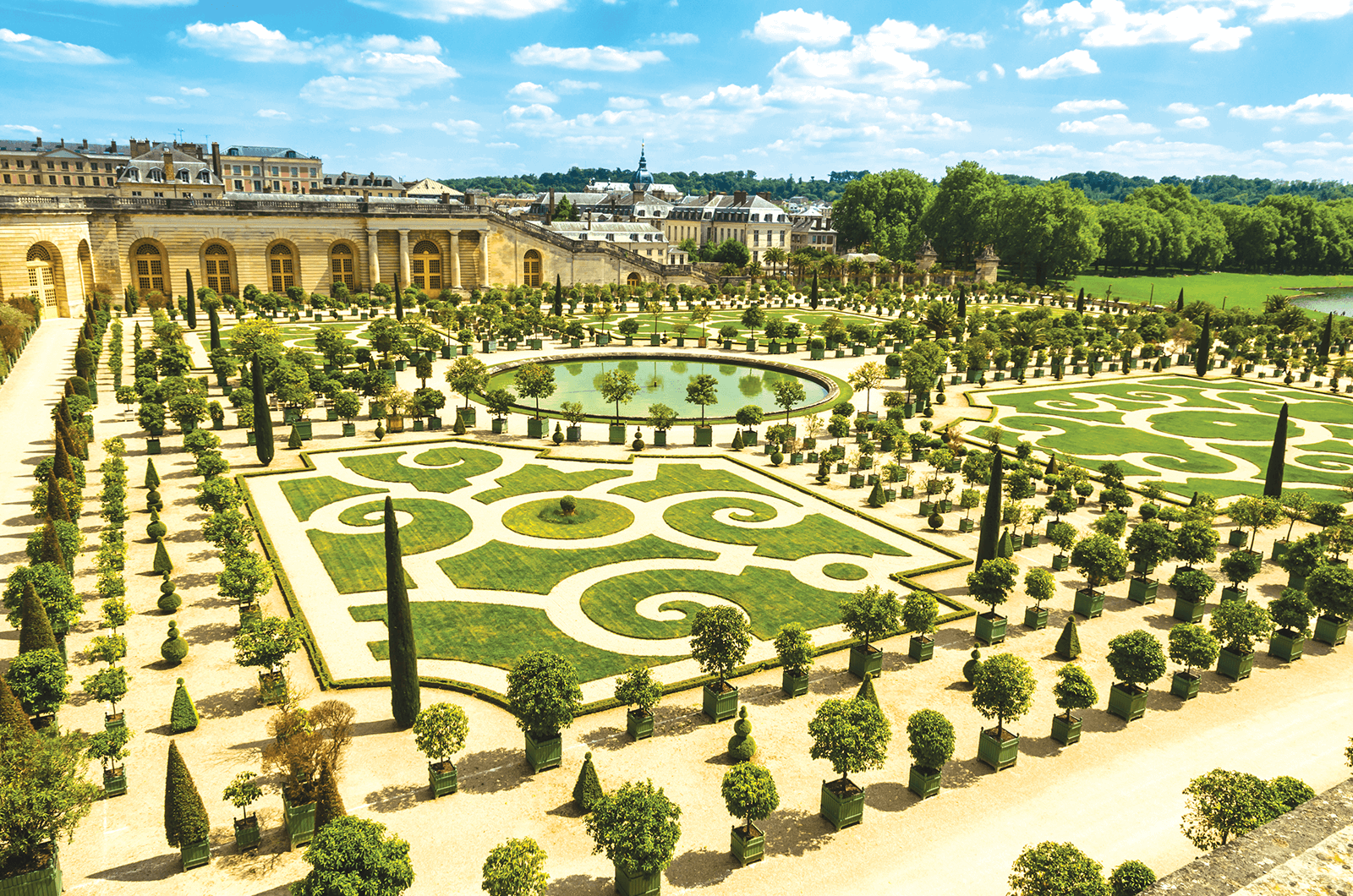 Versailles near Paris, France